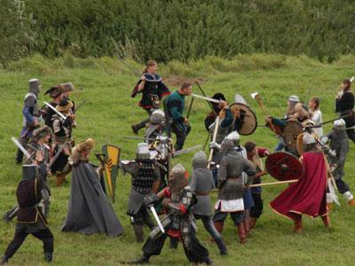 Битва на реке Воже - 1378 г.