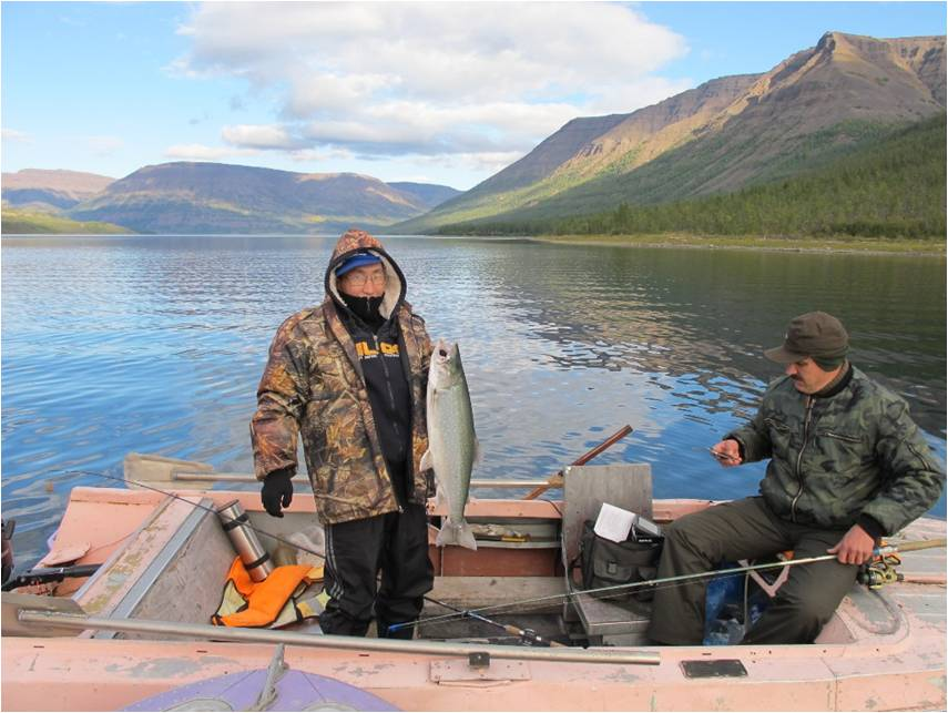 как ловить рыбу с теплохода